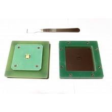 One Chip Tin Steel Stencil Tools BM1391 BM1393 BM1397 BM1387, Free 1pc BM1387