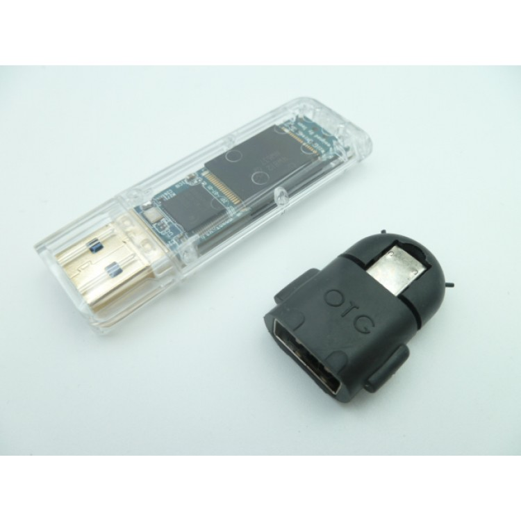 64GB USB Drive High Speed USB3.0 SLC Flash R:290M/s W:230M/s w/ Write protection